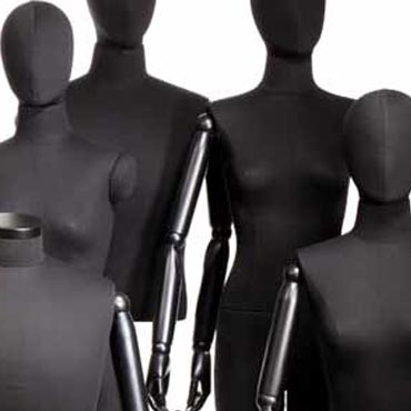 MANNEQUINS SHOPPING : BUSTI DI MANICHINI DONNA