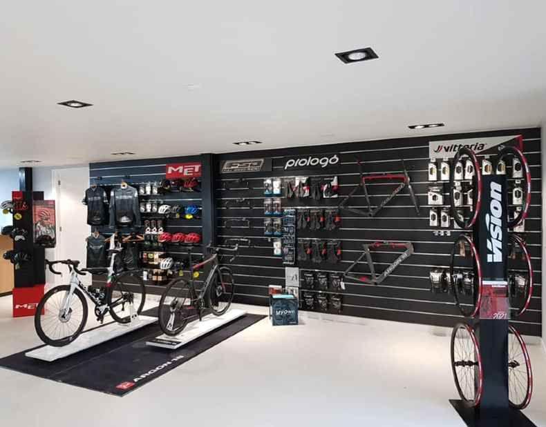 Progetto di attrezzature negozio di biciclette