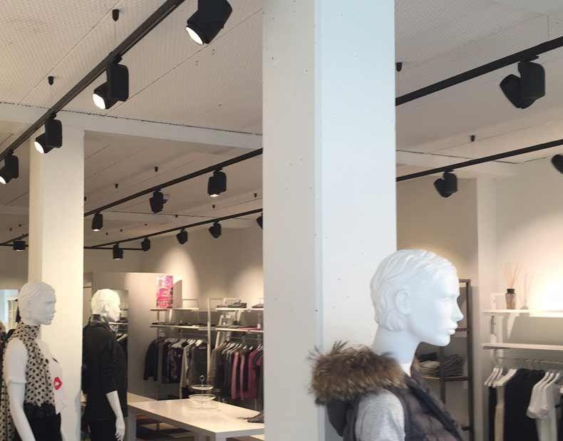 Beratung beleuchtung für Einzelhandel, auf Mannequins-Shopping