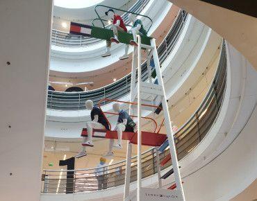 Galeries Lafayette et Tommy Hilfiger