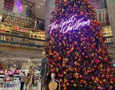 Progetto di allestimento negozi Natale 2020