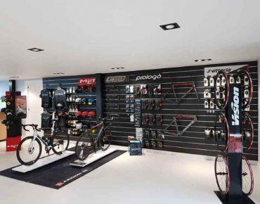 Shopfitting project bike shop