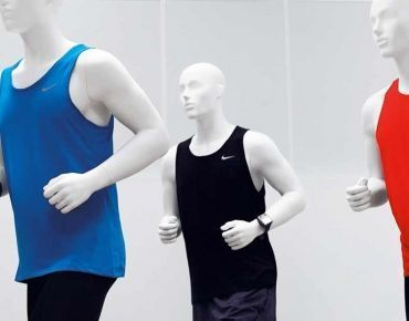 Sport window mannequins