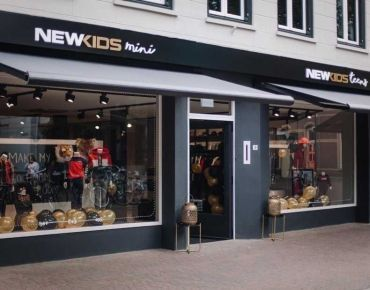 Store lighting project - NewKidsMini