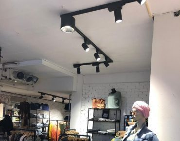 Mannequin and store lighting project