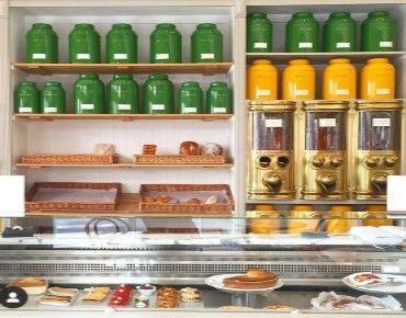 Progetto di attrezzature per il negozio di tè