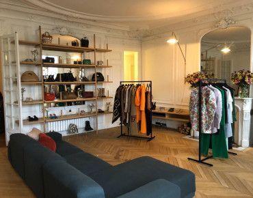 Projet d'équipement de showroom Paris