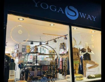 Shopfitting project Yoga & Fitness