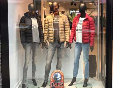 News display mannequins