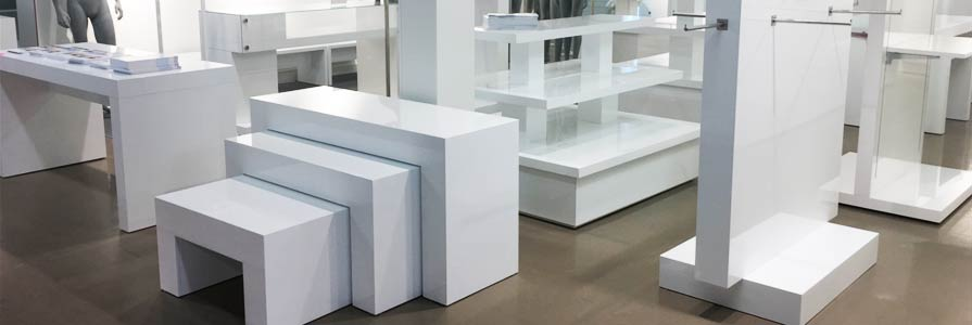 RETAIL DISPLAY FURNITURE   PODIUM