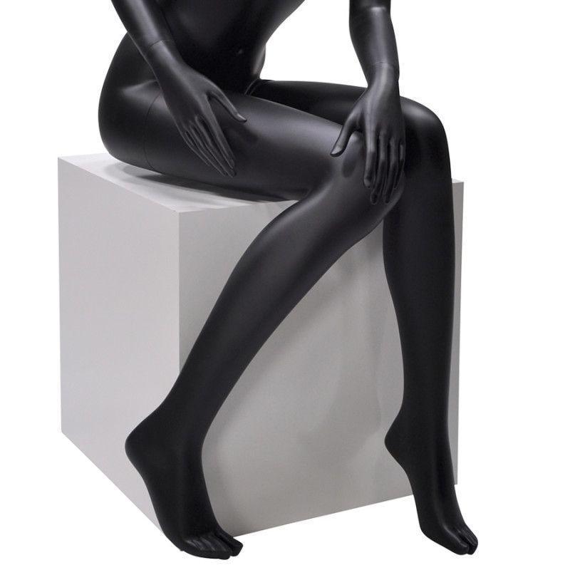 Image 4 : Abtrack sitzen schaufensterfiguren schwartz