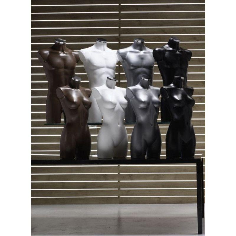Image 1 : Buste femme en plastique effet ...