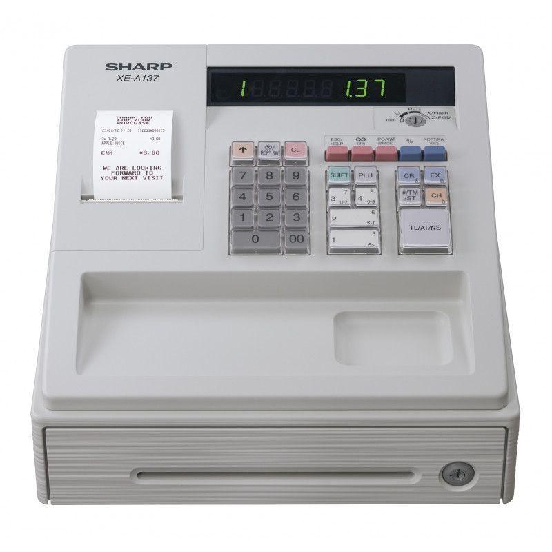Caisses enregistreuses  Sharp XEA137WHNL : Sharp