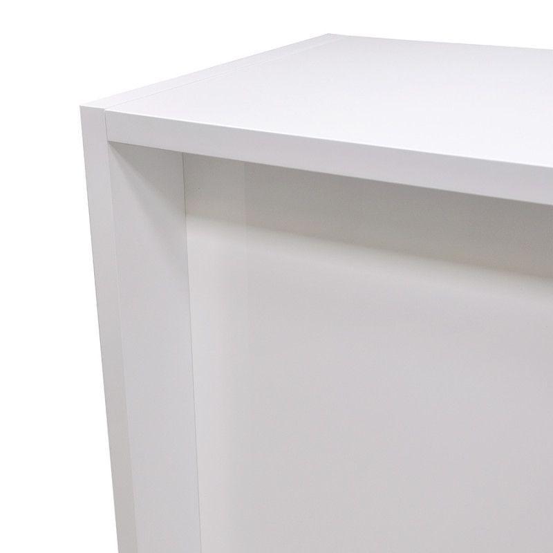 Image 1 : Borne d'accueil magasin blanc ...