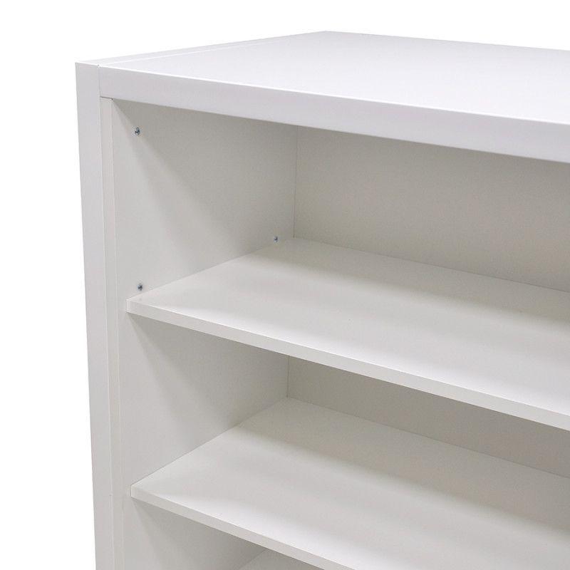 Image 2 : Borne d'accueil magasin blanc ...