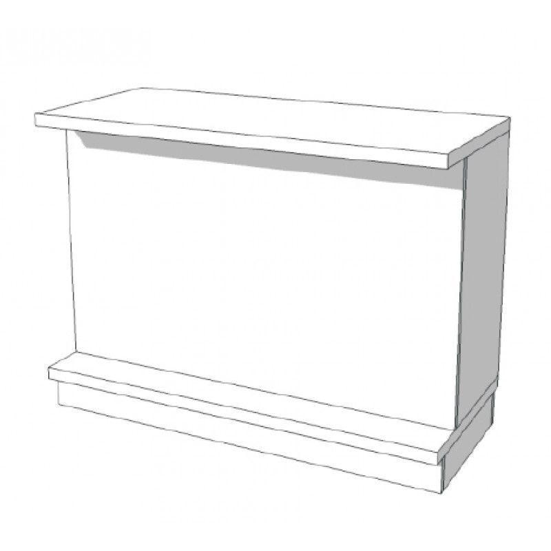Image 3 : Borne d'accueil magasin blanc ...