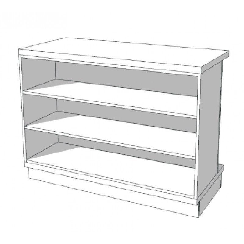 Image 4 : Borne d'accueil magasin blanc ...