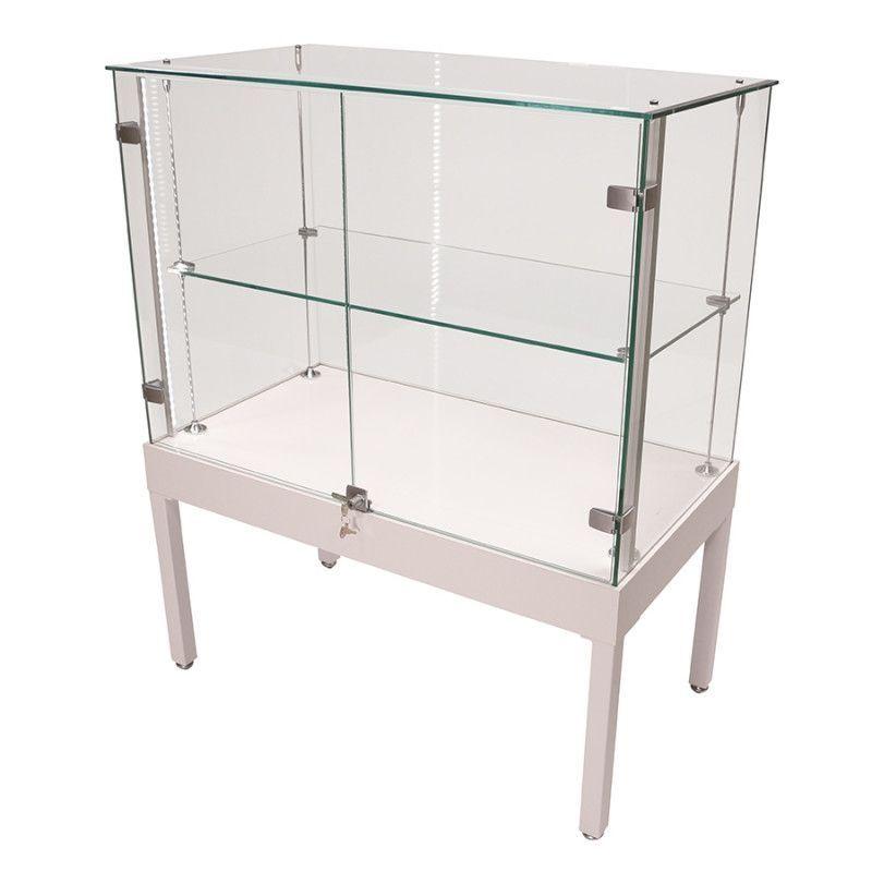 Counter Display Cabinet With Gl Door