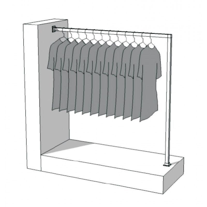 Image 4 : Konfektionsstander, Abmessungen: Breite: 130 cm ...