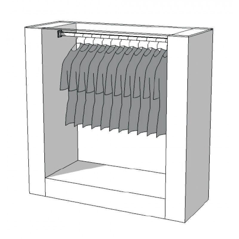 Konfektionsstander Wardrobe S-R-PRS-001 : Portants shopping