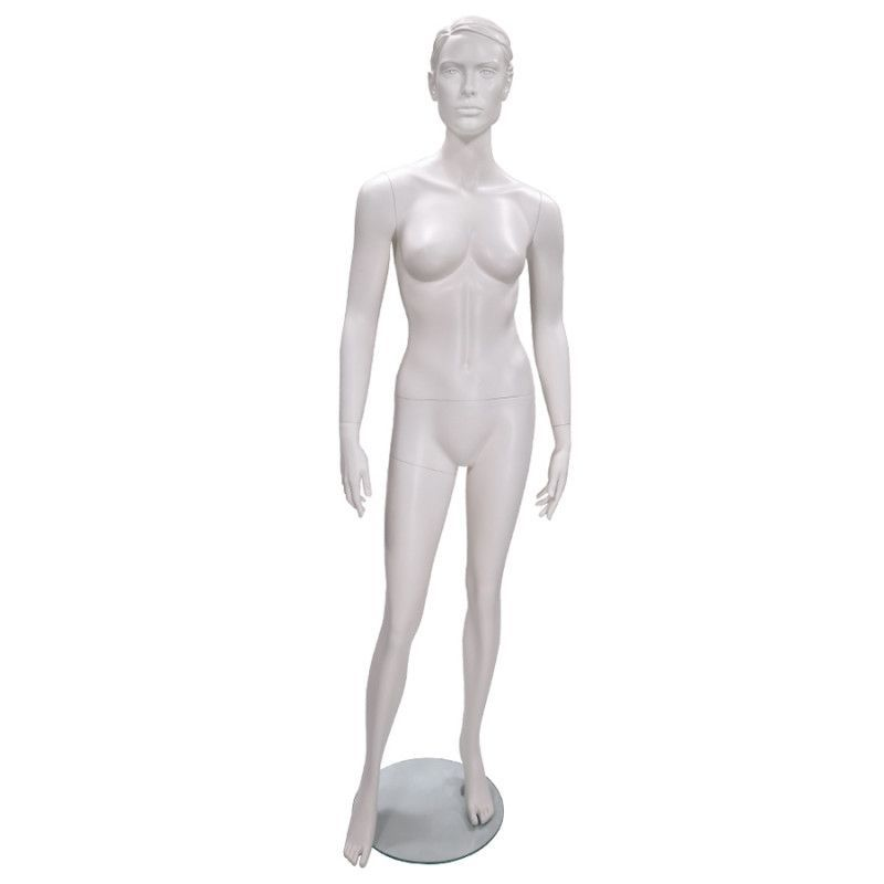 Manichino donna con la testa e base : Mannequins vitrine