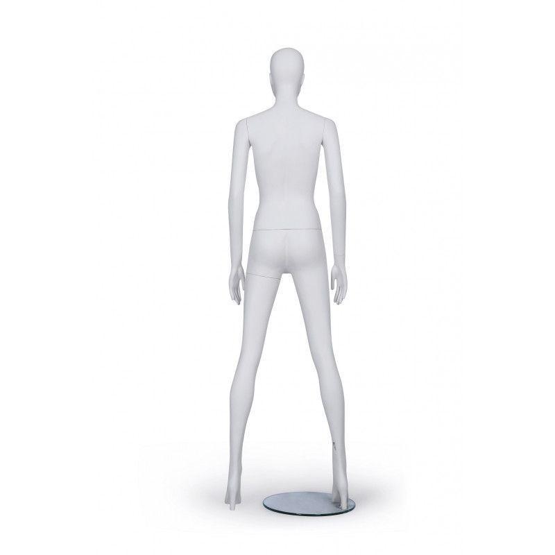 Image 3 : Mannequin femme de couleur blanche ...