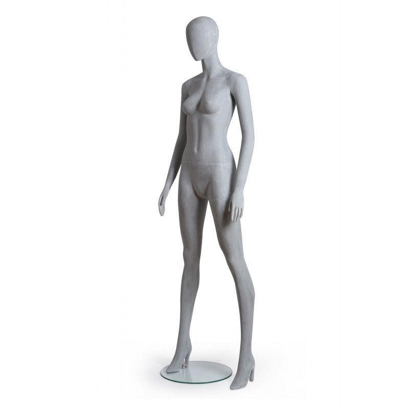 Image 4 : Mannequin de vitrine femme position ...
