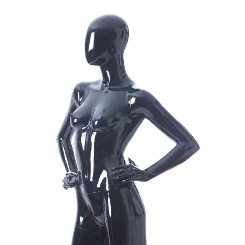 mannequin femme economique coloris noir. Black Bedroom Furniture Sets. Home Design Ideas