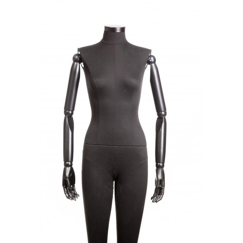 Image 3 : Mannequin de vitrine femme vintage ...