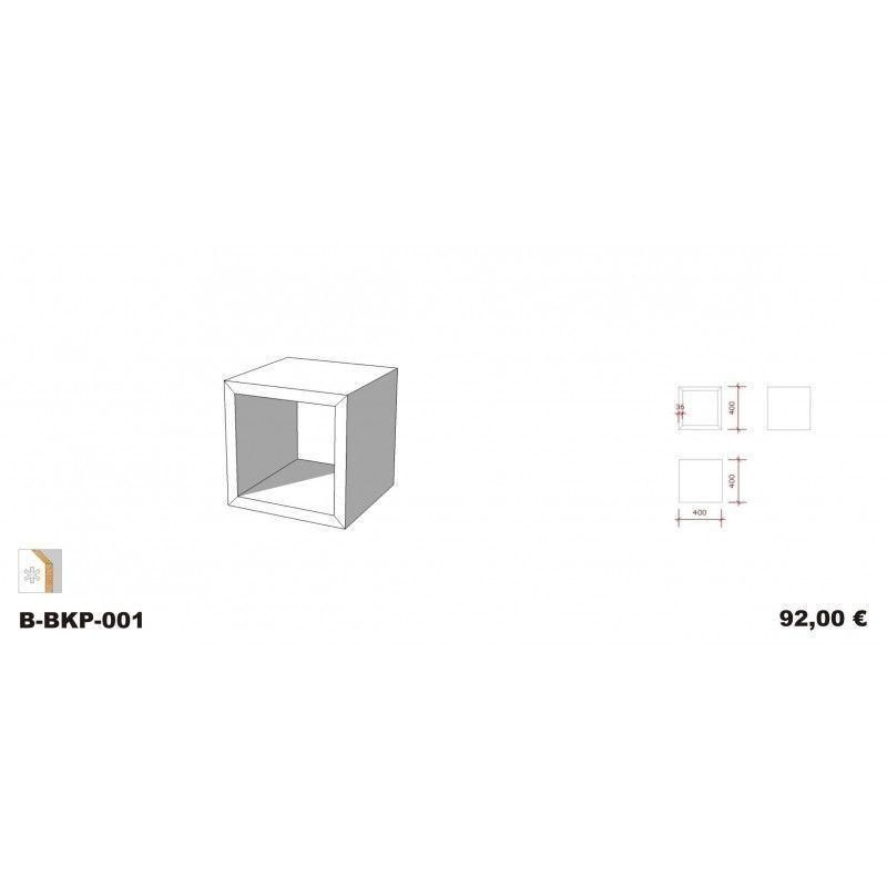Image 2 : Podium Blanc Glossy 40 x ...