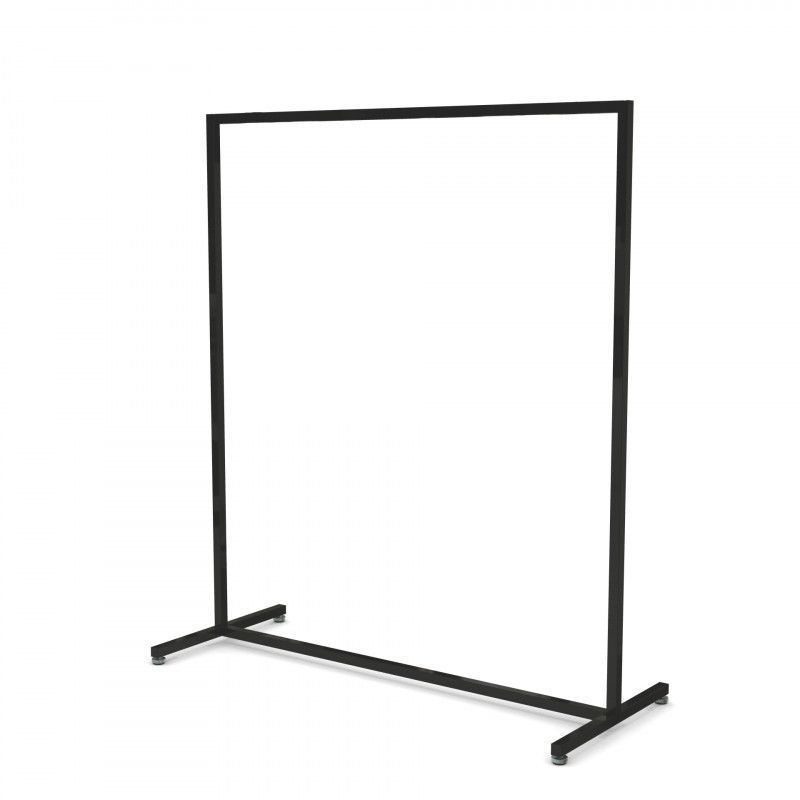 Portant magasin droit 120 cm de largeur : Portants shopping