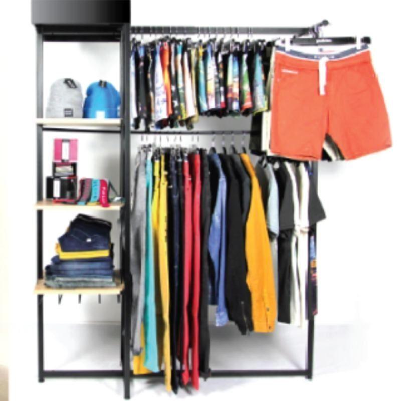 Image 3 : Portant vêtements extensible et ...