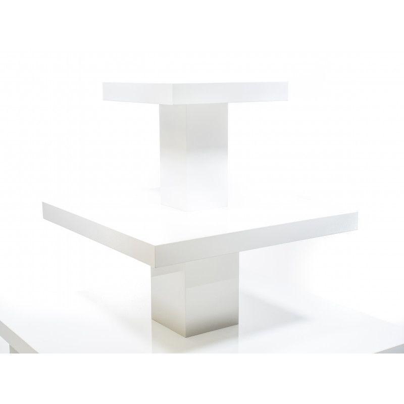 Image 1 : Présentoir magasin coloris blanc ...