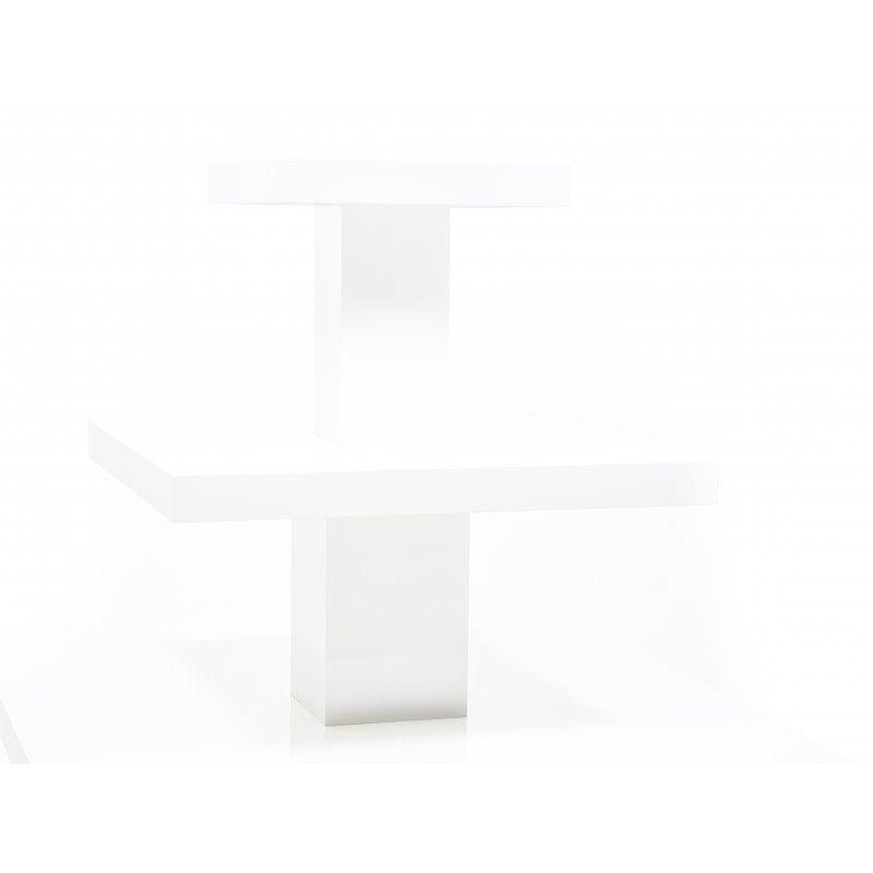 Image 3 : Présentoir magasin coloris blanc ...