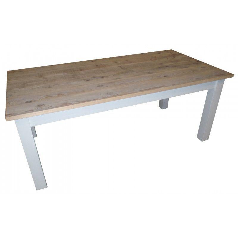 Table Bois Pied Blanc