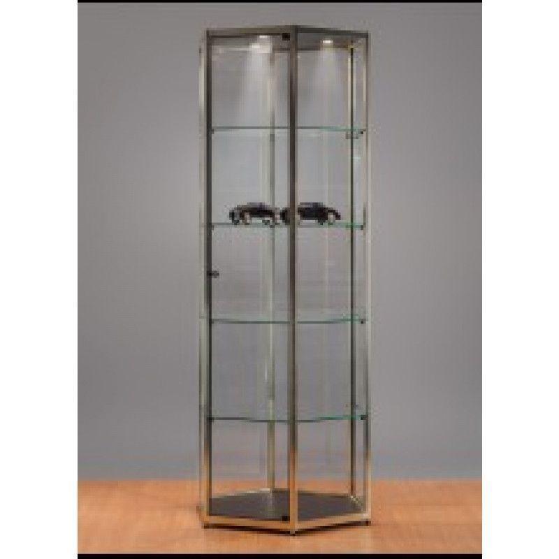 Vetrina de metal y vetro