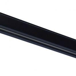 RETAIL LIGHTING SPOTS - 3-CIRCUIT TRACK SYSTEM : Black rail for led spot 1 meter