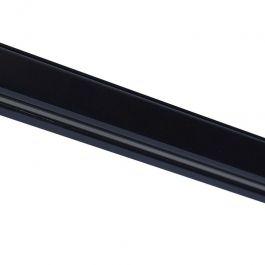 RETAIL LIGHTING SPOTS - 3-CIRCUIT TRACK SYSTEM : Black rail for led spot 2 meters