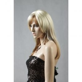ACCESSORIES FOR MANNEQUINS - MANNEQUIN WIGS : Blond female mannequin wig