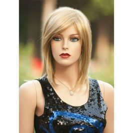 PROMOTIONS ACCESSORIES FOR MANNEQUINS : Blonde mannequin woman wig zl349-24b