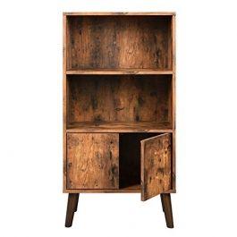 RETAIL DISPLAY FURNITURE - STORAGE UNITS : Bookcase storage shelf with 3 levels