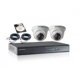 REGISTRATORI DI CASSA E SICUREZZA - SISTEMI DI VIDEOSORVEGLIANZA : Camera videosorveglianza dome hikvision x 2