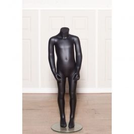 PROMOTIONS CHILD MANNEQUINS : Child mannequins headless black finish 4 years old