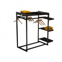 RETAIL DISPLAY FURNITURE - GONDOLAS FOR STORES : Clothing display for store with tablet