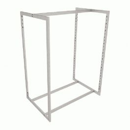 RETAIL DISPLAY FURNITURE - GONDOLAS FOR STORES : Clothing rack for store metal finish