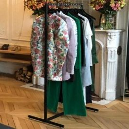 Clothing rail straight Cloting rail width 120 cm Portants shopping