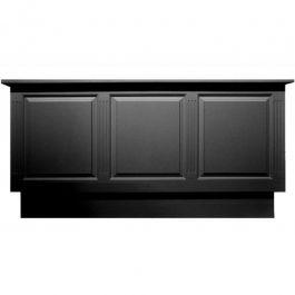 Comptoirs classiques Comptoir classic pour magasin en bois noir Mobilier shopping