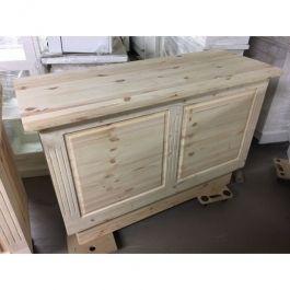 COMPTOIRS MAGASIN - COMPTOIRS CLASSIQUES : Comptoir magasin en bois brut 150cm