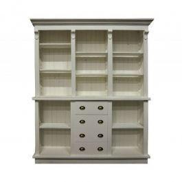 COMPTOIRS MAGASIN - COMPTOIRS CLASSIQUES : Comptoir magasin style authentique en bois