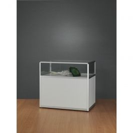 RETAIL DISPLAY CABINET - COUNTER DISPLAY CABINET : Counter display cabinet aluminum